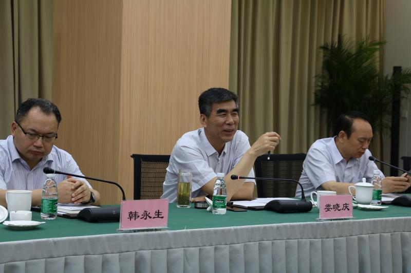 河南省平顶山市政府副秘书长娄晓庆一行到访中恒能公司