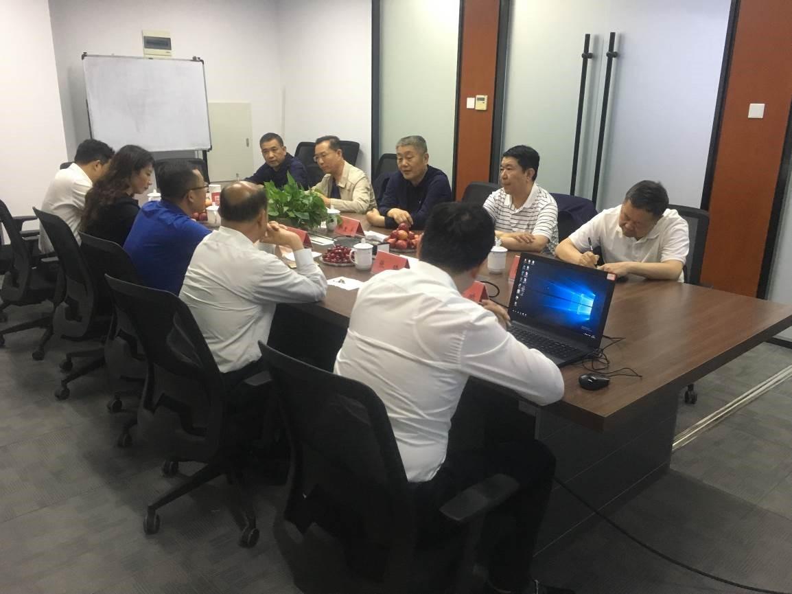 宁夏农垦集团与四川发展中恒能公司洽谈合作