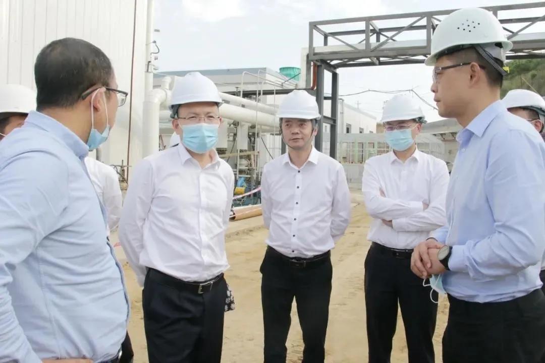 四川发展李文清董事长、张宜刚总经理率队考察攀枝花餐厨项目
