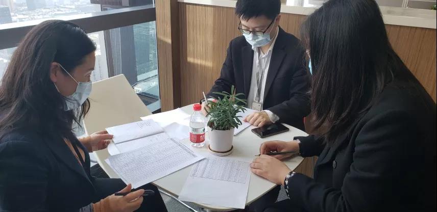 公司纪委开展疫情防控
